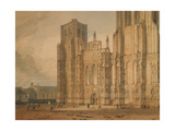 Wells Cathedral, C.1795-96 Giclee Print by Joseph Mallord William Turner