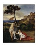 Noli Me Tangere, C.1512 Giclee Print by  Titian (Tiziano Vecelli)