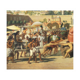 Israel in Egypt, 1867 (Detail) Giclee Print by Edward John Poynter