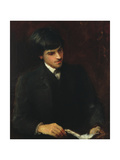 William Butler Yeats, 1886 Giclee Print by John Butler Yeats
