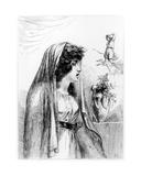 Lady Hamilton as Diana-Hecate, 1791 Giclee Print by Dominique Vivant Denon