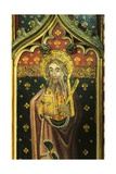 St. Andrew with Satire Cross, Detail of the Rood Screen, St. Agnes Church, Cawston, Norfolk, Uk Giclee Print