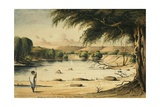Hippopotamus Pond at the Hawash, C.1841-2 Giclee Print by Rupert Kirk