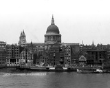 View of St. Paul's Cathedral from Bankside Photographic Print