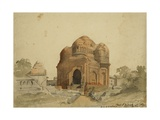 Domed Tomb of Budshah, Srinagar, Kashmir, 1837 Giclee Print by Godfrey Thomas Vigne