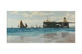 Chain Pier, Brighton, 1883 Giclee Print by John Fraser