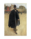The Spaniard in Paris or Portrait of the Painter Francisco Iturrino, 1899 Giclee Print by Henri Jacques Edouard Evenepoel