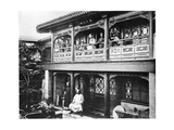 The House of Mr Yang, C.1872 Photographic Print by John Thomson