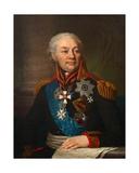 Count Friedrich Von Buxhoeveden, 1809 Giclee Print by Vladimir Lukich Borovikovsky