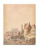 Bruges Giclee Print by Philippe Auguste de Peellaert