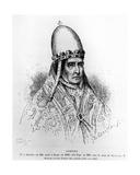 Pope Sylvester II Giclee Print