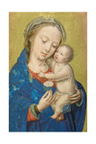 Folio from a Miniature Book of Hours Giclee Print by Simon Bening