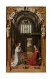 The Annunciation, 1452 Giclee Print by Petrus Christus