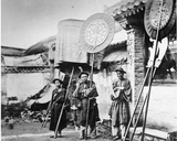 Bannermen at a Manchu Funeral, Peking, C.1872 Photographic Print by John Thomson