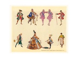 Original Designs for the Gondoliers Giclee Print by Charles Ricketts