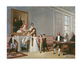 The Family of the First Viscount of Santarem, 1816 Giclee Print by Domingos Antonio De Sequeira