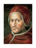 Adrian VI (1459-1523). Dutchman Pope (1522-1523) Giclee Print