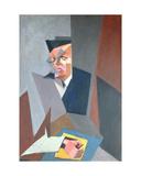 Portrait of Tristan Tzara Giclee Print by Lajos Tihanyi
