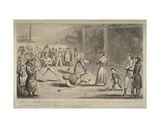 Illustration of a Scene at the Fleet Prison, from 'Life in London' by Pierce Egan, C.1820 Giclee Print by Isaac Robert Cruikshank