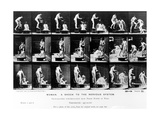 Woman. a Shock to the Nervous System, 1887, Illustration from 'The Human Figure in Motion' by… Photographic Print by Eadweard Muybridge