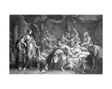 Andromache Bewailing the Death of Hector, Engraved by Domenico Cunego, 1764 Giclee Print by Gavin Hamilton