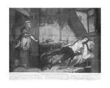 The Death of Chatterton, Engraved by Edward Orme, 1794 Giclee Print by Henry Singleton