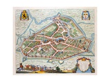 Aalst, 1649 Giclee Print by Joan Blaeu