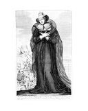 Mary Stuart Queen of Scots Giclee Print by Claude Vignon
