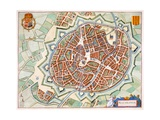 Mechelen, 1649 Giclee Print by Joan Blaeu