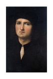 Portrait of a Young Man 1495-1500 Giclee Print by Pietro Perugino