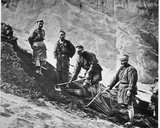 Chinese Coal Miners, C.1867-72 Photographic Print by John Thomson