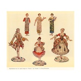 Original Designs for Patience and Iolanthe Giclee Print by George Sheringham