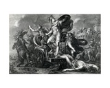 Achilles Vents His Rage on Hector, Engraved by Domenico Cunego, 1764 Giclee Print by Gavin Hamilton