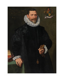 Portrait of Petrus Richardus Giclee Print by Frans II Pourbus
