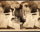 'The Late Riser', Humorous Stereoscopic Card, C.1900 Photographic Print by William Herman Rau