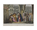 A Scene under the The Piazzas of Covent Garden, 1830 Giclee Print by Isaac Robert Cruikshank