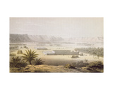 The Oasis of Ghat and its Plantations in 1850, from 'travels and Discoveries in North and Central… Giclee Print by Johann Martin Bernatz
