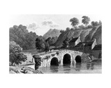 Glenmire Bridge, Near Cork, Engraved by E. Finden, 1832 Giclee Print by Richard Westall