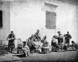 Street Groups, Kiu-Kiang, C.1867-72 Photographic Print by John Thomson