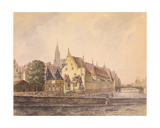 The Danube at Strasbourg Giclee Print by Philippe Auguste de Peellaert