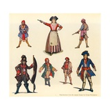 Designs for the Pirates of Penzance Giclee Print by George Sheringham
