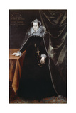 Mary, Queen of Scots (Mary Stuart) Giclee Print by Nicholas Hilliard