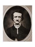 Edgar Allan Poe Lámina giclée por Benjamin D. Maxhan