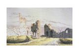 Elden Monastery Giclee Print by Caspar David Friedrich