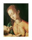 Virgin and Child Giclee Print by Luis De Morales