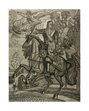 Tzar Emperor Peter the Great, 1980s Giclee Print by Masabikh Akhunov