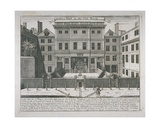 View of the Justice Hall, Old Bailey, C.1740 Giclee Print by John Bowles