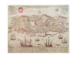 Panorama of Lisbon, 1572 Giclee Print
