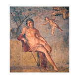 Cupid Leading Zeus's Eagle to Ganymede, from the House of Meleager, Pompeii Giclee Print