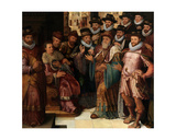 The Judgement of Cambyses Giclee Print by Anthuenis Claeissins Or Claeissens